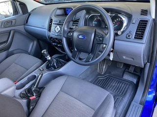 2012 Ford Ranger PX XL Blue 6 Speed Manual Cab Chassis