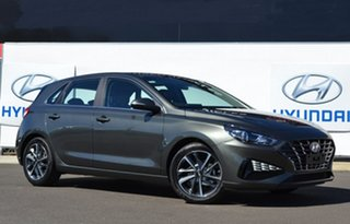 2021 Hyundai i30 PD.V4 MY21 Elite Amazon Gray 6 Speed Automatic Hatchback
