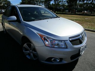 2013 Holden Cruze JH MY13 CD Equipe Silver 6 Speed Automatic Sedan.