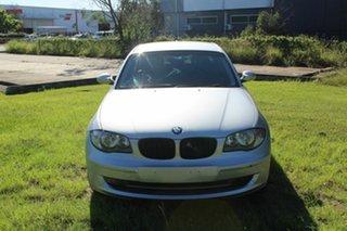 2007 BMW 118i E87 118i Silver 6 Speed Automatic Hatchback.