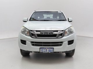 2014 Isuzu D-MAX TF MY14 SX (4x2) White 5 Speed Manual Cab Chassis.