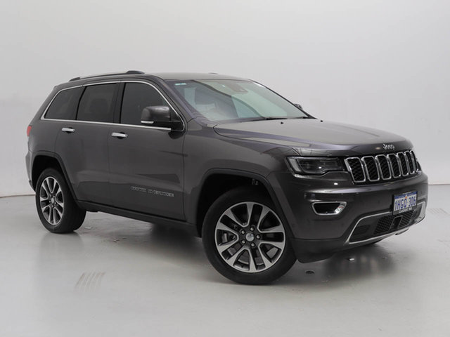 Used Jeep Grand Cherokee WK MY18 Limited (4x4), 2018 Jeep Grand Cherokee WK MY18 Limited (4x4) Grey 8 Speed Automatic Wagon