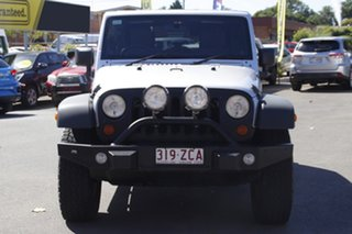 2010 Jeep Wrangler JK MY2010 Unlimited Sport Silver 6 Speed Manual Softtop