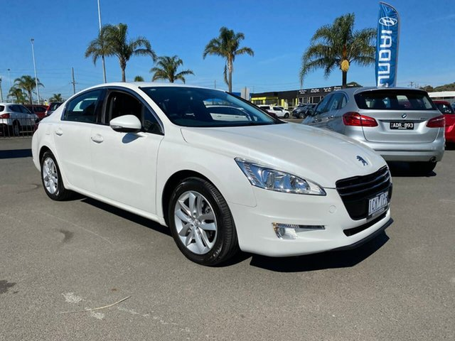 Used Peugeot 508 Active Cheltenham, 2011 Peugeot 508 (No Series) Active White Sports Automatic Single Clutch Sedan