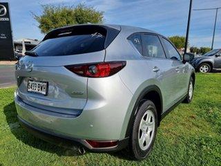 2018 Mazda CX-5 KF4WLA Maxx SKYACTIV-Drive i-ACTIV AWD Sonic Silver 6 Speed Sports Automatic Wagon.