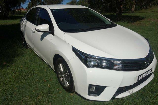Used Toyota Corolla ZRE172R SX S-CVT East Maitland, 2015 Toyota Corolla ZRE172R SX S-CVT White 7 Speed Constant Variable Sedan