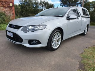 2013 Ford Falcon FG MkII XR6 EcoLPi Silver Sports Automatic Utility.