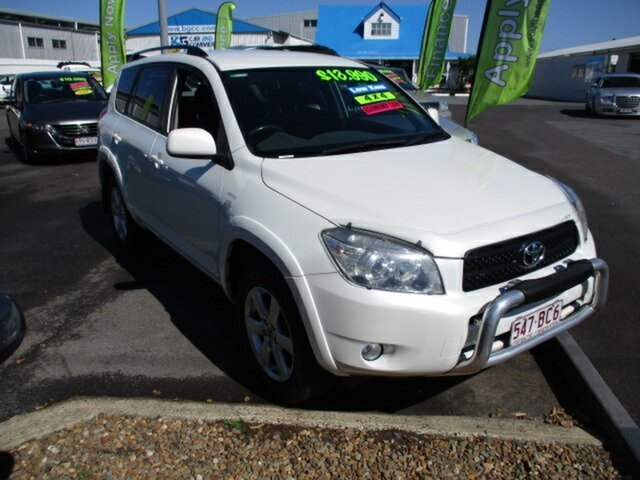 Used Toyota RAV4 AWD Woodridge, 2007 Toyota RAV4 CRUISER AWD White 5 Speed Manual Wagon
