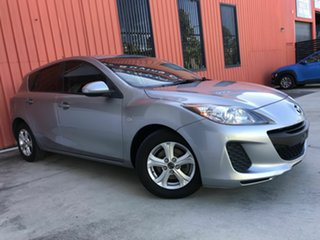 2013 Mazda 3 BL10F2 MY13 Neo Grey 6 Speed Manual Hatchback.