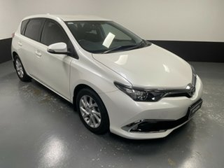 2016 Toyota Corolla ZRE182R Ascent Sport White 6 Speed Manual Hatchback.
