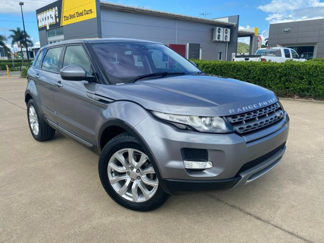 Used Land Rover Range Rover Evoque L538 MY14 Pure Townsville, 2014 Land Rover Range Rover Evoque L538 MY14 Pure Grey/280314 9 Speed Sports Automatic Wagon