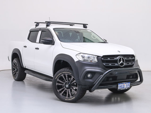 Used Mercedes-Benz X-Class 470 220d Pure (2WD), 2020 Mercedes-Benz X-Class 470 220d Pure (2WD) White 6 Speed Manual Dual Cab Pick-up