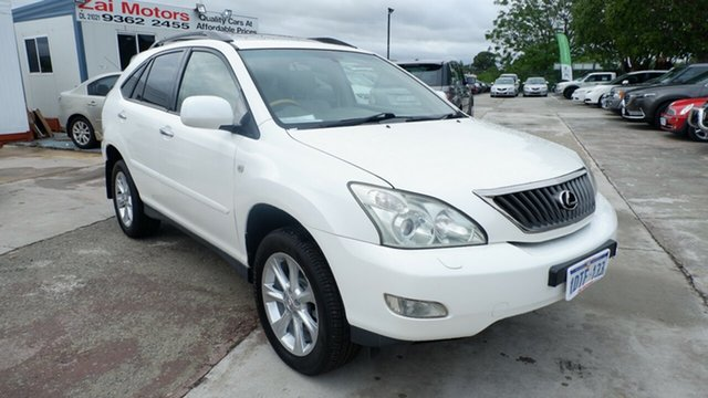 Used Lexus RX GSU35R MY07 RX350 Sports St James, 2007 Lexus RX GSU35R MY07 RX350 Sports White 5 Speed Sports Automatic Wagon