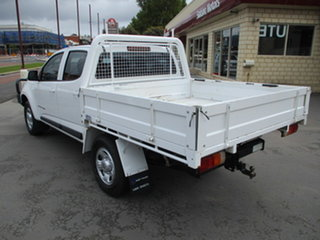 2017 Holden Colorado RG LS 4x4 White 6 Speed Automatic Dual Cab.