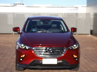 2021 Mazda CX-3 DK4W7A sTouring SKYACTIV-Drive i-ACTIV AWD Red 6 Speed Sports Automatic Wagon