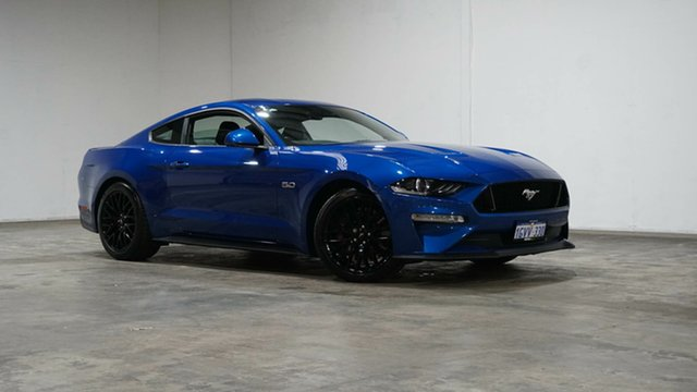 Used Ford Mustang FN 2018MY GT Fastback SelectShift Welshpool, 2018 Ford Mustang FN 2018MY GT Fastback SelectShift Blue 10 Speed Sports Automatic Fastback