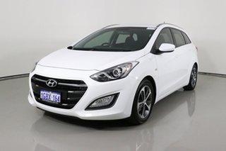 2015 Hyundai i30 GD Tourer Active 1.6 GDi White 6 Speed Automatic Wagon.