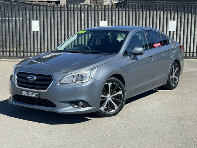 Used Subaru Liberty B6 MY15 2.5i CVT AWD Newcastle, 2015 Subaru Liberty B6 MY15 2.5i CVT AWD Grey 6 Speed Constant Variable Sedan