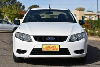 2009 Ford Falcon FG Ute Super Cab White 5 Speed Automatic Utility.