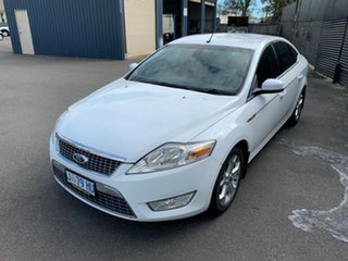 2009 Ford Mondeo MB Zetec TDCi White 6 Speed Sports Automatic Hatchback.