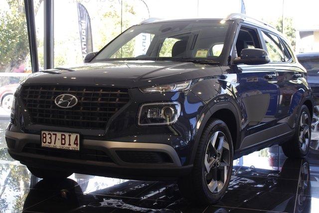 Demo Hyundai Venue QX.V3 MY21 Active Toowoomba, 2021 Hyundai Venue QX.V3 MY21 Active The Denim 6 Speed Automatic Wagon