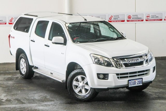 Pre-Owned Isuzu D-MAX TF MY15 LS-M HI-Ride (4x4) Rockingham, 2015 Isuzu D-MAX TF MY15 LS-M HI-Ride (4x4) 5 Speed Automatic Crew Cab Utility