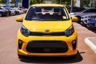 2020 Kia Picanto JA MY21 S Yellow 5 Speed Manual Hatchback