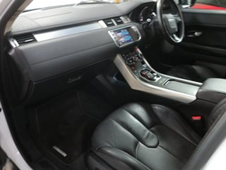 2012 Land Rover Range Rover Evoque L538 MY12 Si4 CommandShift Pure White 6 Speed Sports Automatic