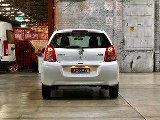 2010 Suzuki Alto GF GL White 4 Speed Automatic Hatchback