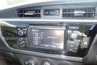 2015 Toyota Corolla ZRE172R SX S-CVT White 7 Speed Constant Variable Sedan