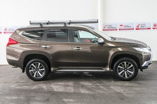 2016 Mitsubishi Pajero Sport QE Exceed (4x4) Brown 8 Speed Automatic Wagon