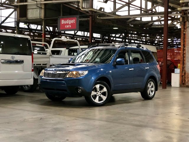 Used Subaru Forester S3 MY09 XT AWD Premium Mile End South, 2008 Subaru Forester S3 MY09 XT AWD Premium Blue 4 Speed Sports Automatic Wagon