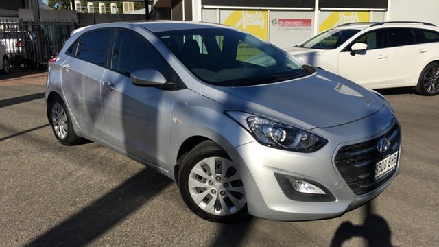 Used Hyundai i30 GD3 Series II MY16 Active DCT Paradise, 2015 Hyundai i30 GD3 Series II MY16 Active DCT Billet Silver 7 Speed Sports Automatic Dual Clutch