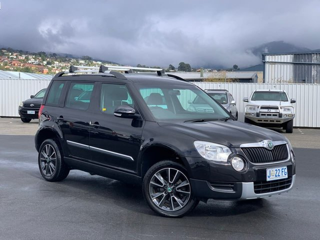 Used Skoda Yeti 5L MY13 77TSI Moonah, 2013 Skoda Yeti 5L MY13 77TSI Black 6 Speed Manual Wagon