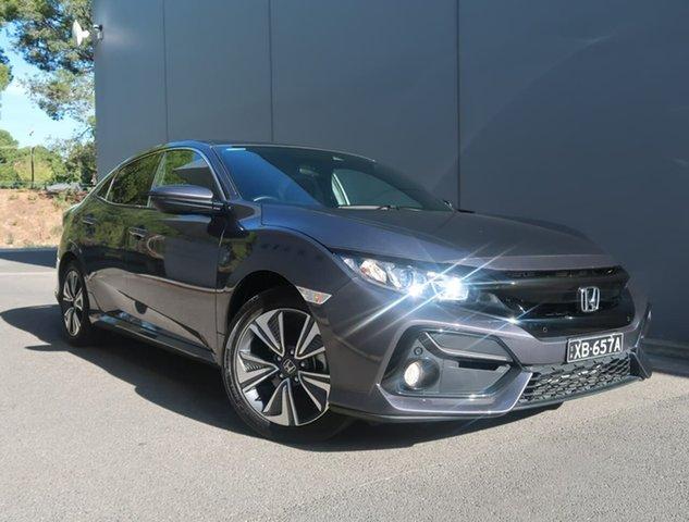 Used Honda Civic 10th Gen MY20 VTi-L Reynella, 2020 Honda Civic 10th Gen MY20 VTi-L Grey 1 Speed Constant Variable Sedan