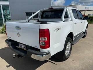 2013 Holden Colorado RG MY13 LTZ Crew Cab White/270513 6 Speed Sports Automatic Utility.