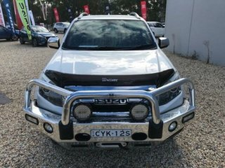 2015 Isuzu D-MAX TF MY15 LS-Terrain HI-Ride (4x4) White 5 Speed Automatic Crew Cab Utility.