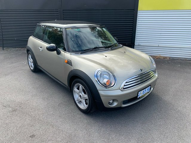 Used Mini Hatch R56 Cooper Launceston, 2007 Mini Hatch R56 Cooper Gold 6 Speed Sports Automatic Hatchback