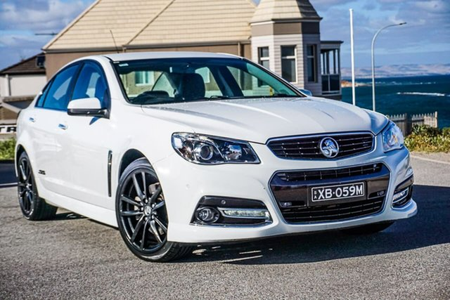 Used Holden Commodore VF MY14 SS V Christies Beach, 2013 Holden Commodore VF MY14 SS V White 6 Speed Sports Automatic Sedan