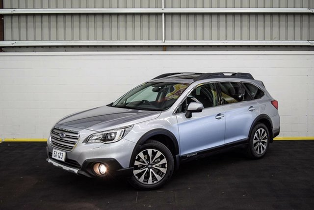 Used Subaru Outback B6A MY17 2.5i CVT AWD Premium Canning Vale, 2017 Subaru Outback B6A MY17 2.5i CVT AWD Premium Silver 6 Speed Constant Variable Wagon