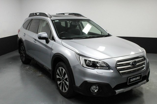 Used Subaru Outback B6A MY15 2.5i CVT AWD Premium Hamilton, 2014 Subaru Outback B6A MY15 2.5i CVT AWD Premium Silver 6 Speed Constant Variable Wagon