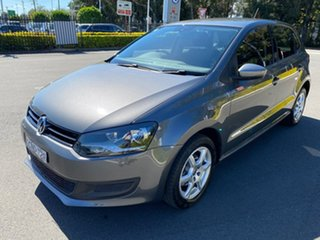 2012 Volkswagen Polo 6R MY13 77TSI DSG Comfortline Grey 7 Speed Sports Automatic Dual Clutch.