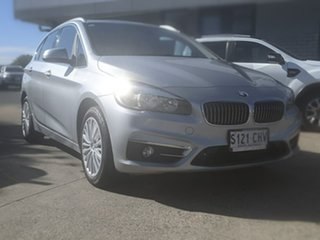2015 BMW 2 Series F45 218i Active Tourer Steptronic Sport Line Silver 6 Speed Automatic Hatchback.