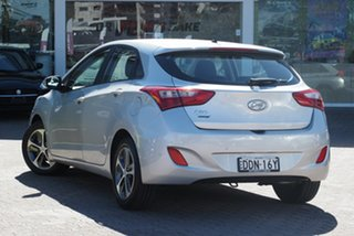 2015 Hyundai i30 GD4 Series 2 Active X Silver 6 Speed Automatic Hatchback.