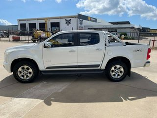2013 Holden Colorado RG MY13 LTZ Crew Cab White/270513 6 Speed Sports Automatic Utility