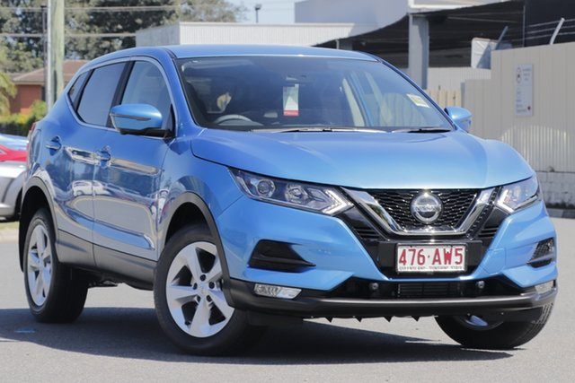 Demo Nissan Qashqai J11 Series 3 MY20 ST+ X-tronic Bundamba, 2020 Nissan Qashqai J11 Series 3 MY20 ST+ X-tronic Vivid Blue 1 Speed Constant Variable Wagon