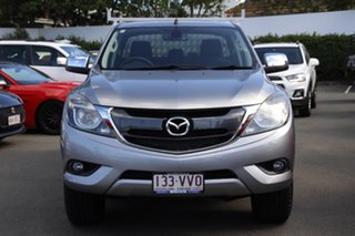 2015 Mazda BT-50 UP0YF1 XTR Silver 6 Speed Sports Automatic Utility.