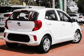 2020 Kia Picanto JA MY21 S White 5 Speed Manual Hatchback