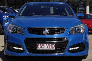 2014 Holden Commodore VF MY14 SV6 Blue 6 Speed Sports Automatic Sedan.