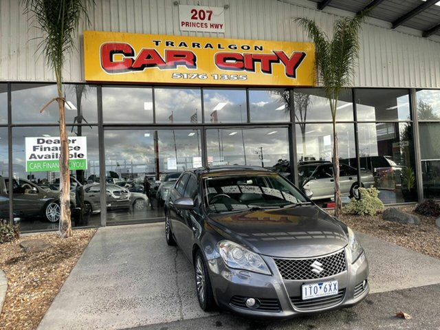 Used Suzuki Kizashi FR MY11 Prestige Traralgon, 2011 Suzuki Kizashi FR MY11 Prestige Grey Continuous Variable Sedan